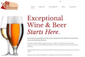Winemaking advertising