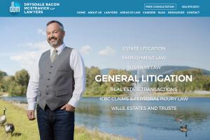 DBM Website - lawyer advertising